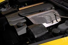 C6 Corvette LS2 2005-2007 Fuel Rail Covers Perforated