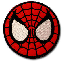 Spiderman Kid Super Hero Cartoon Patch Applique Embroidered Iron on Marvel Mask