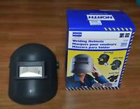 (BOX OF 6) A676  WELDING HELMETS + FILTER PLATE #9 NORTH by HONEYWELL