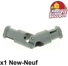 Lego technic - 1x cardan Universal Joint 4L gris/light gray 9244c01 NEUF