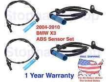 ABS Wheel Speed Sensor Set for 04-2010 BMW X3 Front Rear Driver Passenger Side