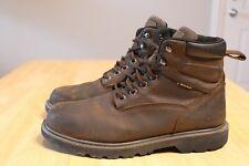 "Wolverine Men's 6"" Floorhand Steel Toe Waterproof Work Boots W10633 Brown 10.5M"