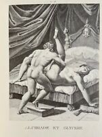 Agostino Carracci Erotik Penis Akt Vagina Alkibiades Antike Mythologie Love