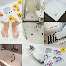 BEST NON SLIP BATH SHOWER TRAY SAFETY MAT STRIPS STRONG STICKERS BATHROOM