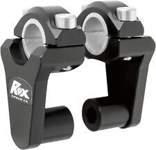 "Rox Speed FX - 2"" Pivoting Risers for 7/8"" OR 1-1/8"" Handlebar (Black) 1R-P2SEK"