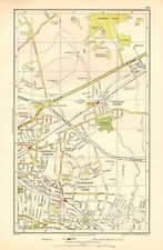 1936 LARGE SCALE LONDON MAP-GIDEA PARK, SQUIRREL'S HEATH, HORNCHURCH,HAROLD WOOD