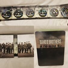 Band of Brothers DVD [2001] in Collectors Tin 6 disc set Steven Spielberg
