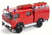 1965 Magirus-Deutz 100 D 7 FA LF8-TS Fire Truck, Lucky 43017, 1/43 Scale Diecast