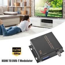Pro HDMI Extender By RF Coaxial 500m 1080P HDMI to RF/COAX Modulator for DVB-T