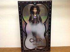 NIB Black Label Cher *Black Turn Back Time* Bob Mackie Collectors Barbie Doll