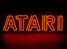 "Neon Light Sign 32""x20"" Atari Game Room Beer Bar Artwork Decor Lamp"