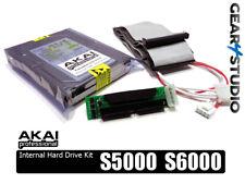 AKAI S5000 / S6000 Internal Hard Drive Kit 73Gb + install kit + 10Gb Samples