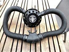 Scuba diving vintage double hose Aqualung Jet Air.  Rebuilt.