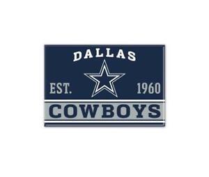 Dallas Cowboys Photo Magnet with Logo, NFL Football, Team Gründungsjahr