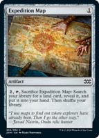 Expedition Map x4 Magic the Gathering 4x Double Masters mtg card lot