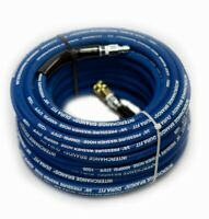 "Interchange Brands 3648-QC 100 ft 3/8"" Blue Non-Marking 4000psi Pressure Washer"