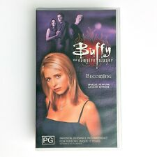 BUFFY the Vampire Slayer VHS Tape BECOMING Season 2 Finale Special Feature 1999