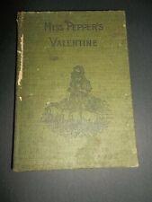 Miss Pepper'S Valentine & Other Stories Abingdon Press vintage no date