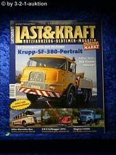 Last & Kraft 2/10 Krupp SF 380 Magirus S 3500 O&K L071 Firma Heuser MB Bus