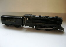 Windup Train by Marx Engine, tender. coal car, cabose