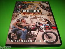 STURGIS OR BUST 2011 DVD, South Dakota Black Hills, Motorcycle Rally, Bikers NEW