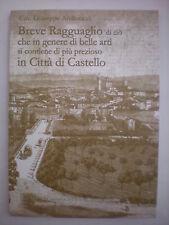 (UMBRIA) ANDREUCCI: STORIA DI CITTA' DI CASTELLO