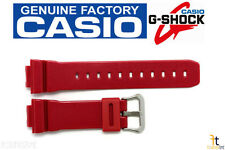 CASIO DW-6900MF-4 G-Shock Original 16mm Red (Glossy) Rubber Watch Band Strap