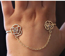 ACROSS PALM BRACELET, BANGLE, CUFF, BODY JEWELLERY, ROSE, CHAIN, GIFT