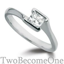 18 Carat Excellent Cut White Gold SI1 Fine Diamond Rings