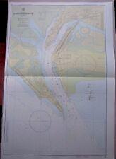 "1971 KARACHI HARBOUR West Pakistan - Navigational Sea MAP CHART 28"" x 41"" C55"