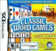 Classic Word Games - Nintendo DS by