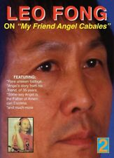 Leo Fong On Angel Cabales Dvd Filipino Martial Arts Escrima kali arnis