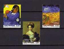 15014) SAN MARINO 2003 MNH** Paintings Gaugin Van Gogh