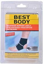 NEOPRENE JOINT ELASTIC SUPPORT SPORT ANKLE BRACE BANDAGE  RIGHT OR LEFT FOOT