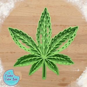 Cannabis Cookie Cutter | cannabis gifts |weed marijuana candy mould | stoner