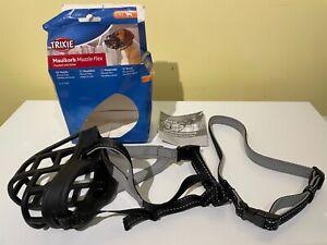 Trixie Muzzle Flex Dog Muzzle Large - XL Brand New in slightly damaged Box