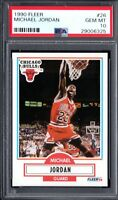 PSA 10 MICHAEL JORDAN 1990-91 90-91 Fleer #26 Chicago Bulls HOF RARE GEM MINT