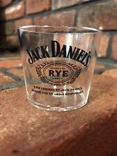 Jack Daniels Rye Plastic Shot Glass set of 5