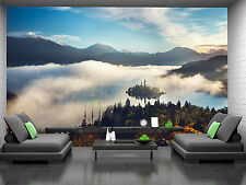 Panoramic view of Lake Wall Mural Photo Wallpaper GIANT DECOR Paper Poster