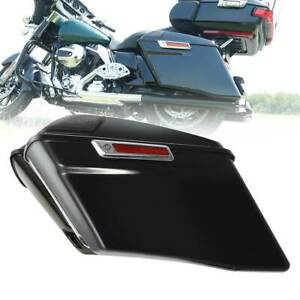 """4"""" Extended Hard Saddlebags W/ Latch For Harley Electra Road Glide 2014-2020 CVO"""