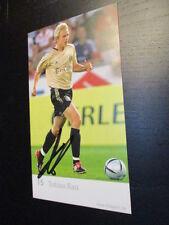 59085 Tobias Rau FC Bayern München DFB original signierte Autogrammkarte