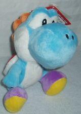 Super Mario Nintendo Wii Light Blue Yoshi Plush w/ tags 2010
