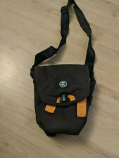 VGC! Crumpler Camera Bag The Three Million Dollar Home Brown