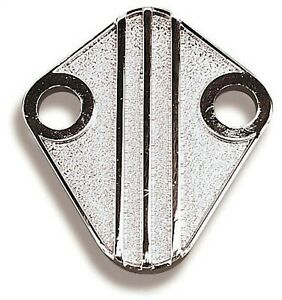 Fuel Pump Block Off Plate Mechanical Fuel Pump Mounting Pad Cover Holley 12 813