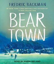 Beartown by Fredrik Backman (English) Compact Disc Book Free Shipping!