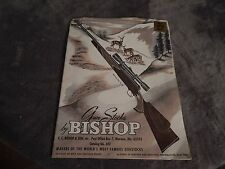48th Year Gun Stocks by Bishop, Catalog, no. 651, 1964, incl. Slip Page