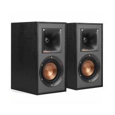 GENUINE Klipsch R-41M 2-Way Bookshelf Speakers (Pair) - BLACK   100% US Stock!