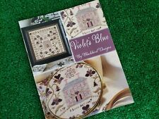 Violet's Blue - Cross Stitch Pattern by Blackbird Designs