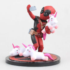 Marvel Super hero Figuren X-Men Deadpool Einhorn PVC Actionfigur Spielzeug Deko