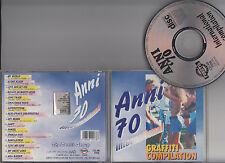 CD ANNI 70 GRAFFITI COMPILATION